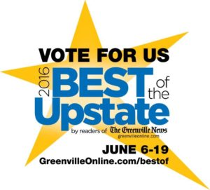 Vote For MG's GRAND Day Spa in 2016 Best of the Upstate